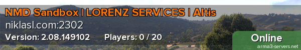 NMD Sandbox | LORENZ SERVICES | Altis